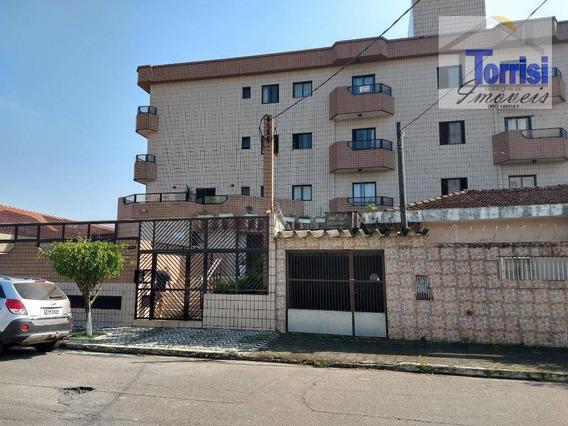 Apartamento Em Praia Grande,01 Dormitório, Sala Com Sacada,no Campo Da Aviação, Ap0632 - Ap0632