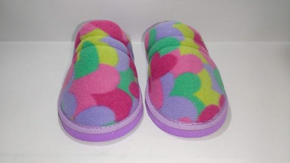 Chinela Pantufla Zapato De Interior Mujer Niña Teen A.498