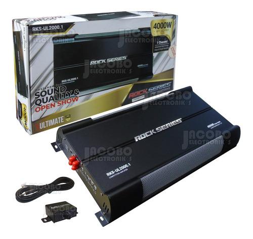 Imagen 1 de 7 de Amplificador Rock Series Ultimate Clase D Rks-ul2000.1 4000w