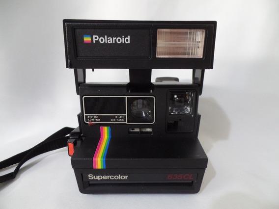 Câmera - Polaroid - Supercolor - 635cl - Com Caixa