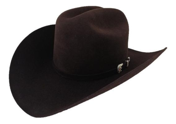 Sombrero Texana 30 X Marca West Point Chocolate Pelo Conejo