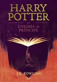 Livro Harry Potter E O Enigma Do Príncipe - Capa Dura