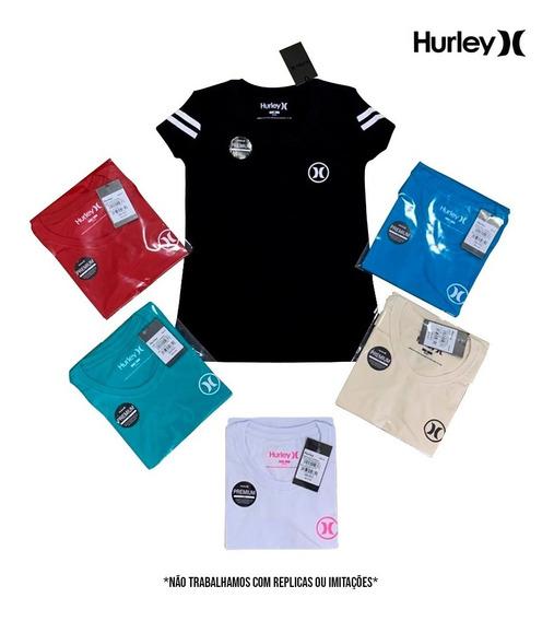 Camiseta Hurley Babylook Logo Feminina - Original