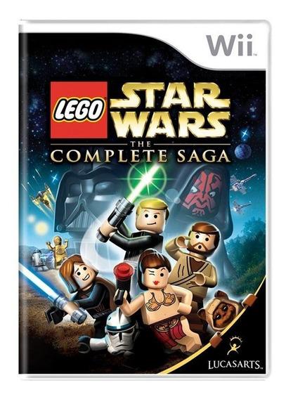 Lego Star Wars The Complete Saga Wii Mídia Física