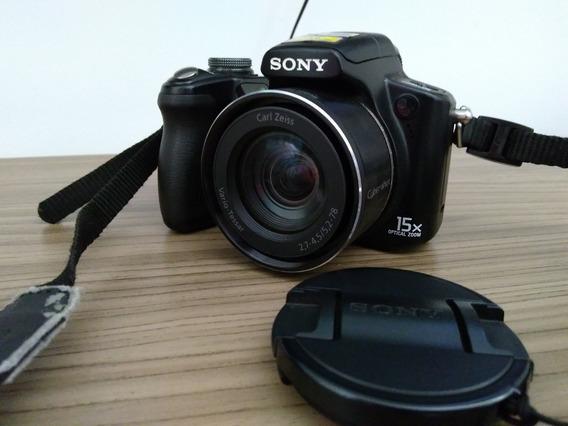Câmera Semi Profissional Sony Dsc H50 - Perfeita
