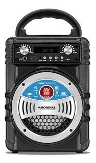 Parlante Portatil Karaoke Mondial Mc005 30w Bluetooth Usb Fm