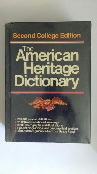 Dicionário Inglês American Heritage Dictionary Frete Grátis