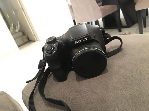 Câmera Dsc-h100 Sony