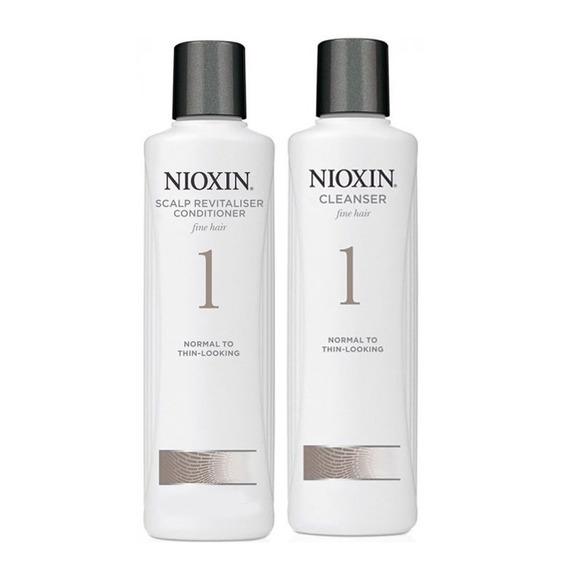 Kit Nioxin Cleanser Sh. N1 300ml E Cond N1 300ml