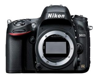 Cámara Fotográfica Profesional Nikon D600 Fx. (solo Cuerpo)