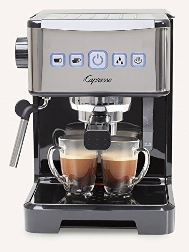 Capresso 124.01 Cafetera Espresso Ultima Pro, Negra