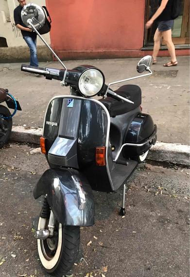 Vespa Px 200 - Placa Preta