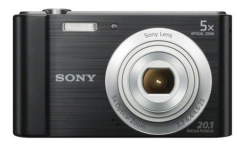 Imagen 1 de 3 de Sony DSC-W800 compacta color  negro