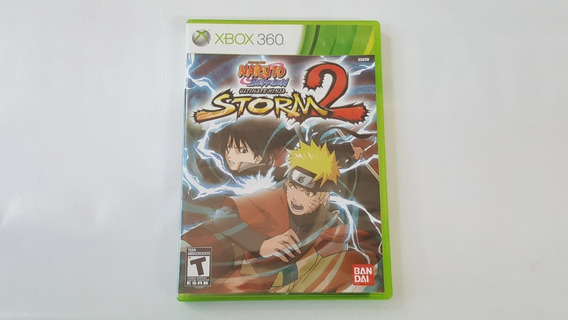 Naruto Ultimate Ninja Storm 2 - Xbox 360 - Original - Física