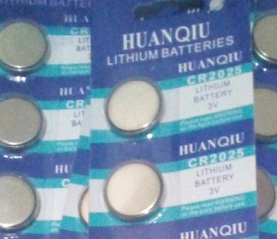 25 Pilhas Bateria Cr2032 Lithium3v Placa Mae Bios Ou Cr2025