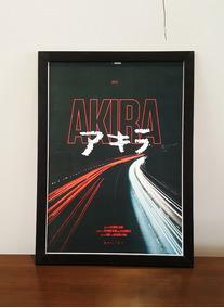 Quadro Estilo Ppster Akira Tamanho 30x42