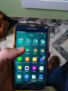 Galaxy S5 Com Carrefador Touch Trincado - Funcionando.