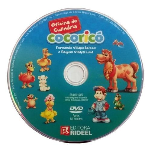 Dvd Original Oficina De Culinária Cocoricó