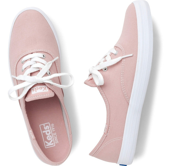 Tênis Keds Champion Woman Canva Liso Feminino Original