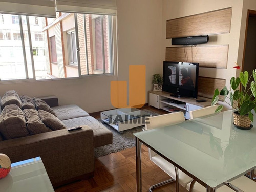 Apartamento Reformado, 114 Metros, 2 Dormitórios E 1 Vaga  - Bi4585