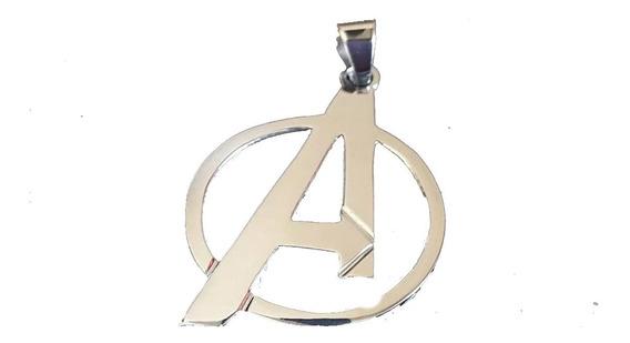 Dije Avengers Vengadores En Plata Ley 925 End Game Plata Fin