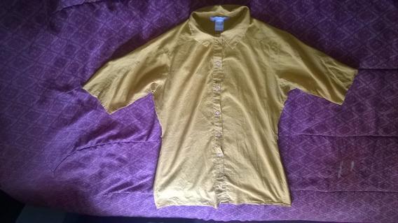 Ropa Usada Camisa Casual Amarilla Para Dama