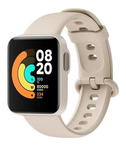 "Imagen 1 de 5 de Xiaomi Mi Watch Lite 1.4"" caja  ivory malla  ivory de  tpu REDMIWT02"