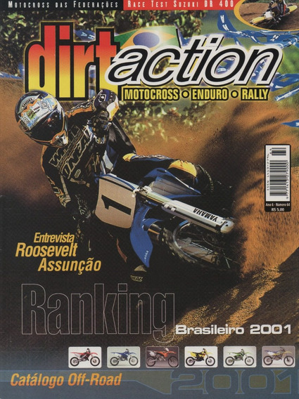 Dirt Action N°64 Suzuki Dr 400 Catálogo Off-road 2001