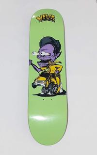 Tabla Viva Skateboard Skateboarding Profesional8 Lija Gratis