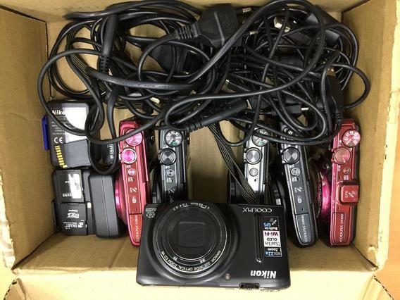 Câmeras Compacta Nikon S9500 (lote Com 5 Unidades)