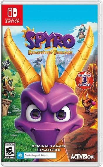 Spyro Reignited Trilogy - Switch - Midia Física!