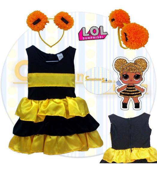 Disfraz Vestido Lol Surprise! Queen Bee Mod. 1