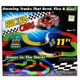 Pista Magica Glow Tracks Racing Cars Original Pumy Toys New