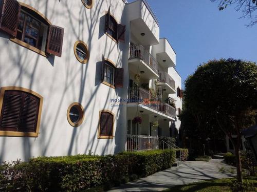 Imagem 1 de 30 de Localizado Em Alto De Pinheiro, Apartamento Com 3 Dorm. À Venda, 185 M² Por R$ 1.880.000- São Paulo/sp Propstarter Adm.imoveis - Ap0365