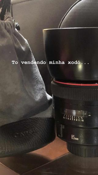 Lente Canon 85mm 1.2
