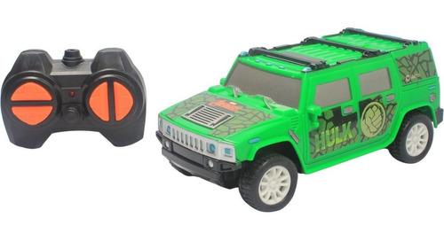Marvel Avengers Carro Jeep Controle Remoto Carro Dos Herois