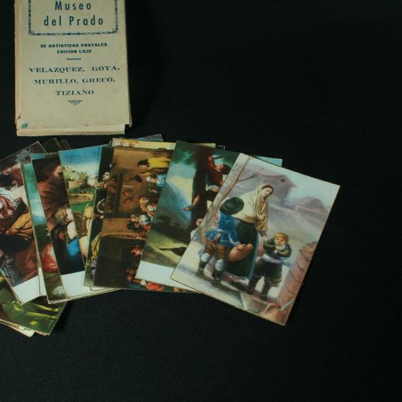 30 Cartões Postais Com Artistas Do Museu Do Prado