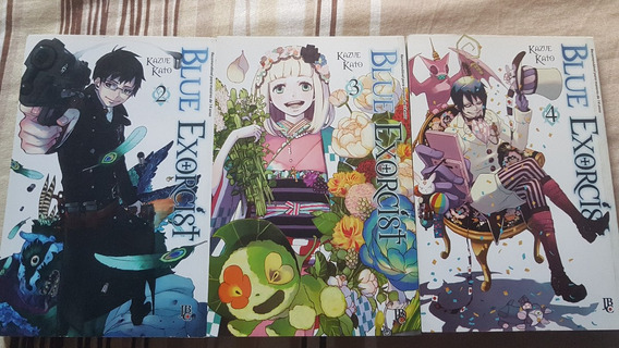 Blue Exorcist Nº2,3,4