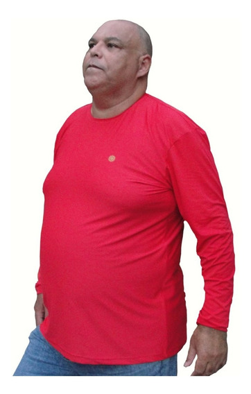 Camisa Térmica Com Proteção Solar Uv 50+ Plus Size G2 A G5
