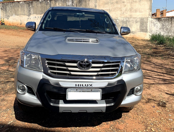 Hillux Toyota Srv 2012/2013 Cd4x4 Diesel - Segundo Dono
