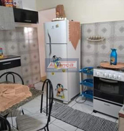 2 Casa Com 1 Dormitório À Venda, 75 M² - Jardim Santa Paula - Guarulhos/sp - Ai13067
