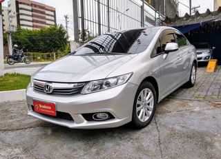 Civic Lxs 1.8 Prata 2014