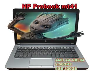 Laptop Amd A4 Hp Probook Mt41 4gb 320gb