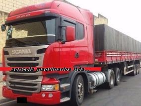 Scania Highline R 440 - 6x2 Conjunto Graneleiro Guerra 2012