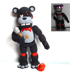 Five Nights At Freddys Figura Lefty Articulado Con Luz Led