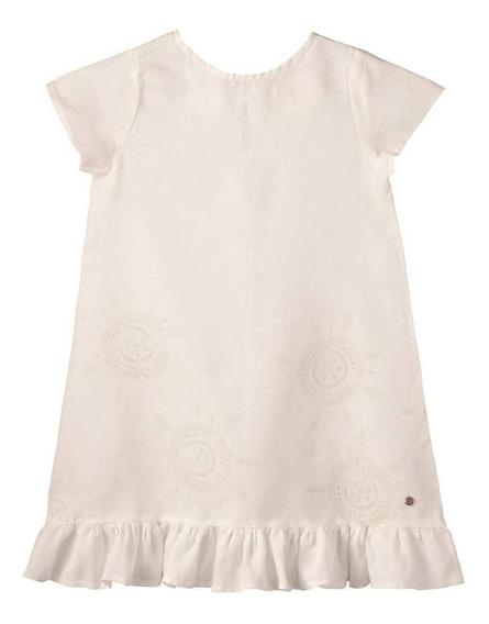 Vestido Lupe Blanco Enfans