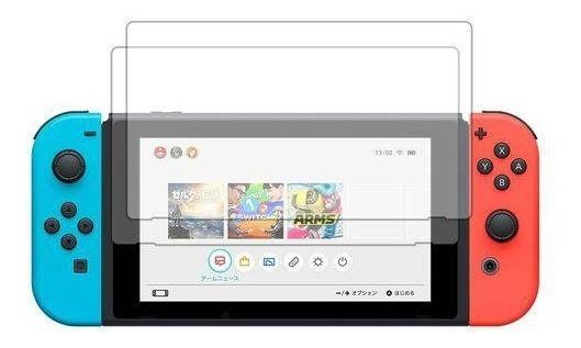 Película De Vidro Temperado Para Tela Nintendo Switch Proteja A Tela Do Seu Console Adere E Protege Seu Visor