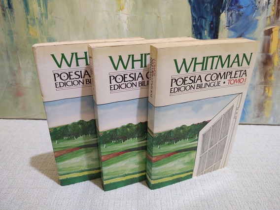 Whitman Poesia Completa Edicion Bilingue