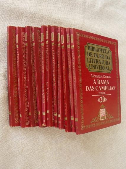 Coleção Biblioteca De Ouro Da Literatura Universal 11 Livros
