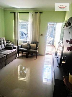 Casa Com 3 Dormitórios À Venda, 138 M² Por R$ 790.000 - Parque Continental - São Paulo/sp - Ca0266